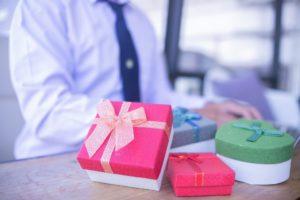 cadeaux pour les clients
