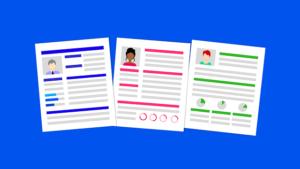 CV format word